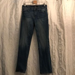 LUCKY BRAND men's classic straight jeans w/adjusts